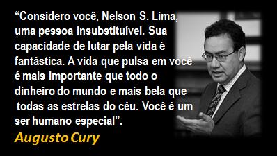 Augusto Cury, obrigado!