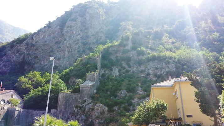 Крепостная стена Котора, Черногория