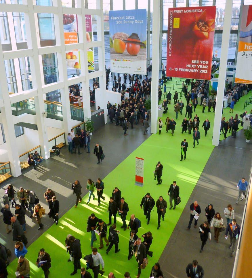 Fruit Logistica 2011 - Berlin - 09-11. Feb. - Entrance ...
