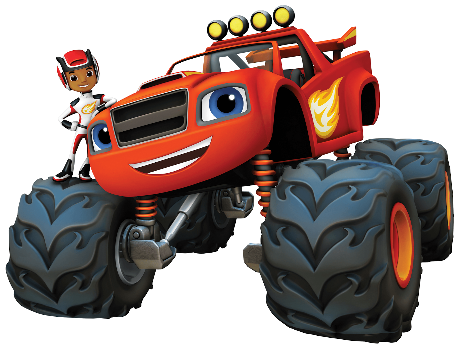 """Following the shows debut Nick Jr UK will continue to premiere brand new episodes of """"Blaze and the Monster Machines"""" weekdays at 4 00pm replayed at"""