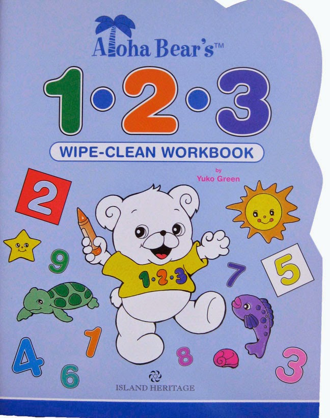 wipe-clean workbook