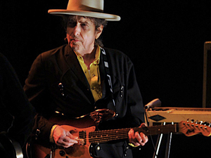 O cantor Bob Dylan aparece na lista