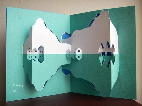 Создаем объемные pop-up открытки собственными руками 66
