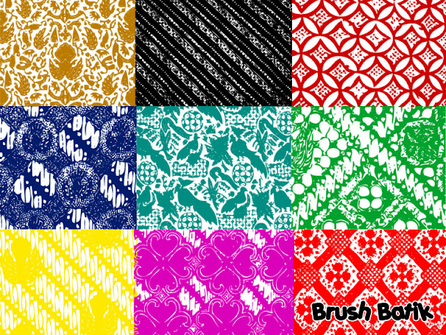 batik Brush Batik Asli Indonesia