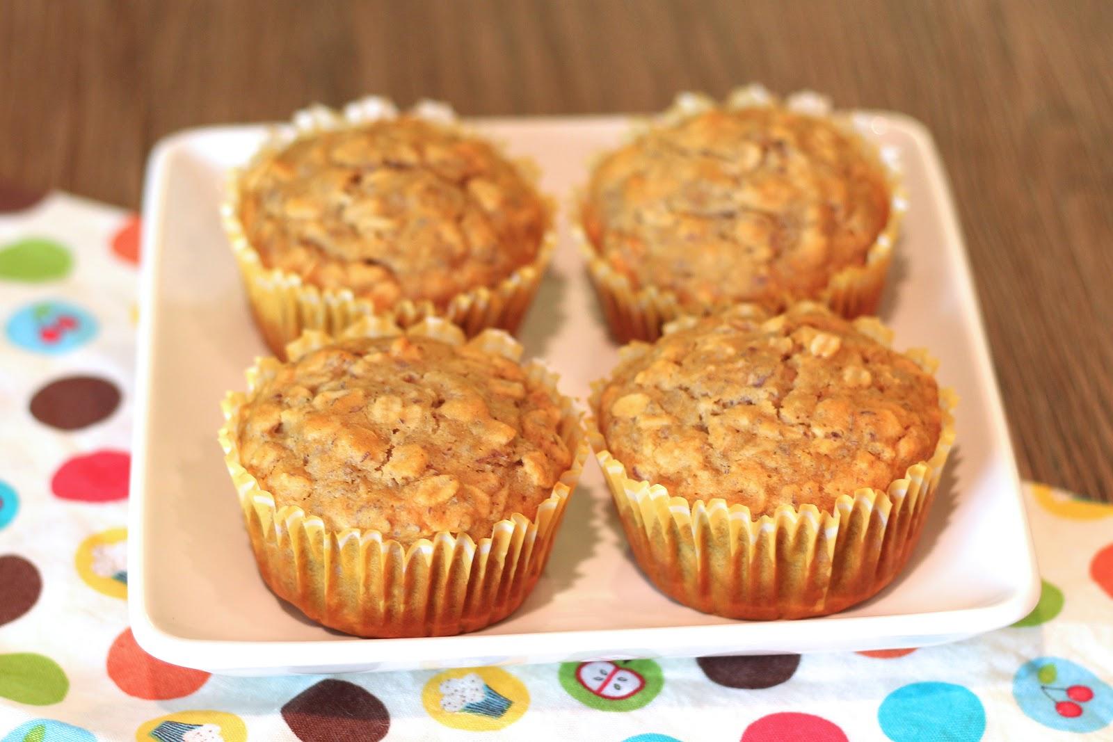 gluten free honey oat muffins - Sarah Bakes Gluten Free