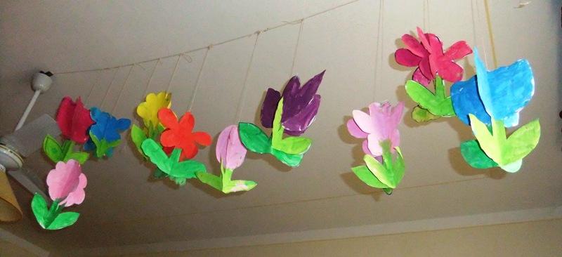 Studiamando liberamente decorazioni di primavera fiori - Decorazioni primavera ...