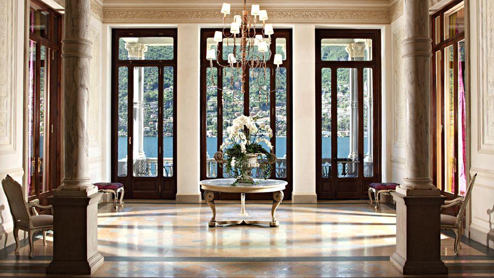 Passion for luxury castadiva resort spa at lake come for Casta diva resort spa