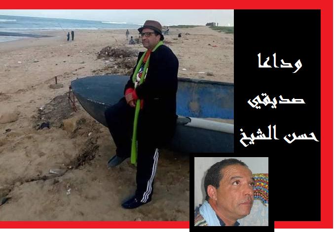 وداعا أخي وصديقي الفنان التشكيلي حسن الشيخ