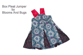 box pleated jumper sewing tutorial