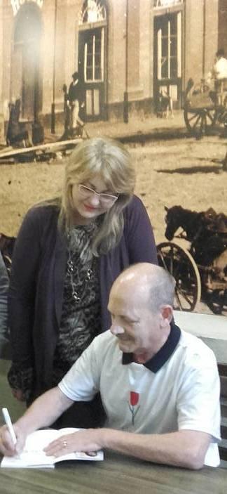 Manoel com Judith Plentz - Porto Alegre - 2016