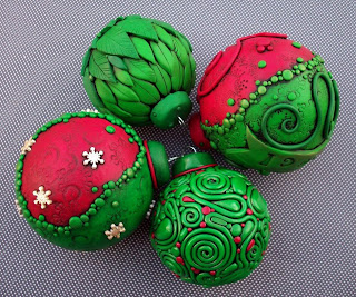 Christmas Ornaments Glass