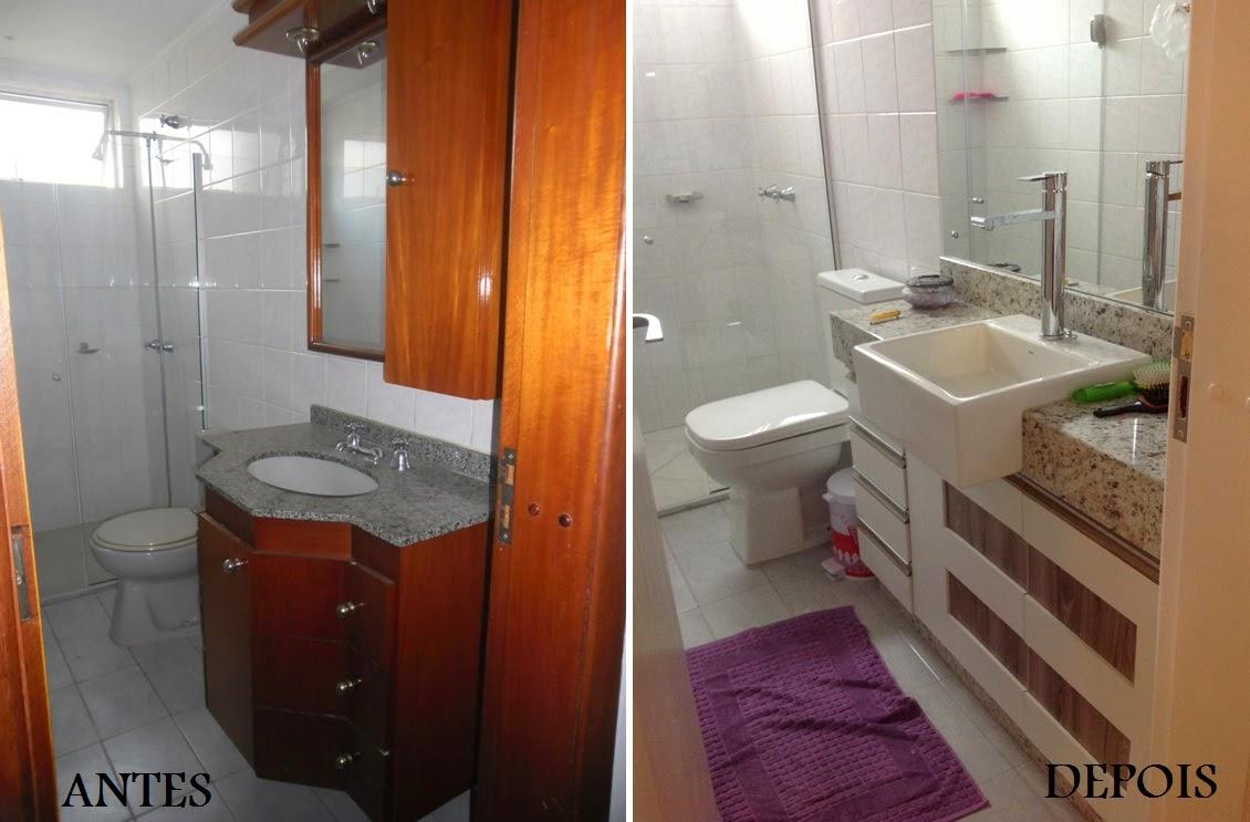 Decorando por ai reformas em banheiros antes e depois - Reformas de apartamentos ...