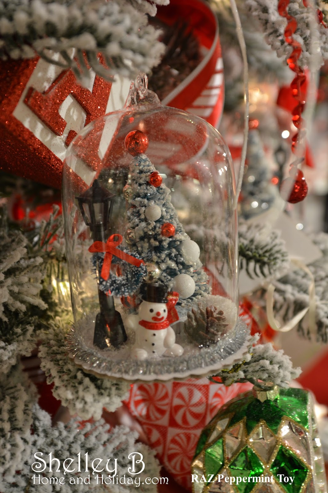 Candy Christmas Tree Garland