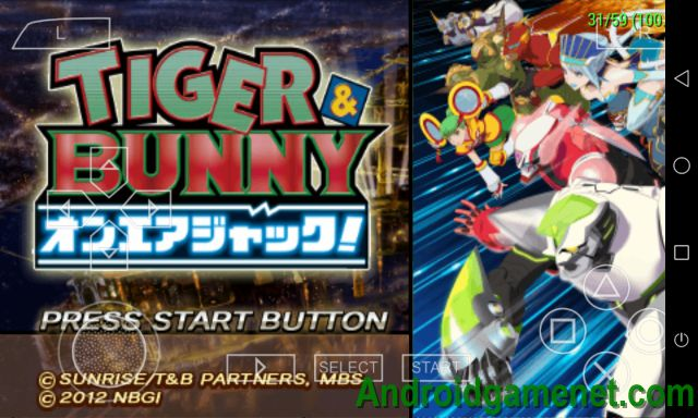 [Giả Lập PSP] Tiger And Bunny - On-Air Jack [JPN] - PPSSPP Android Game