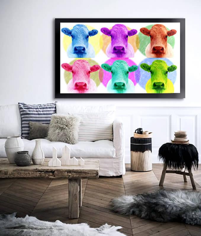 Sensaciones de hogar cuadros y decoracion estilo industrial - Cuadros estilo moderno ...