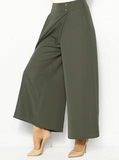 Model rok celana muslimah terbaru desain casual dan modis