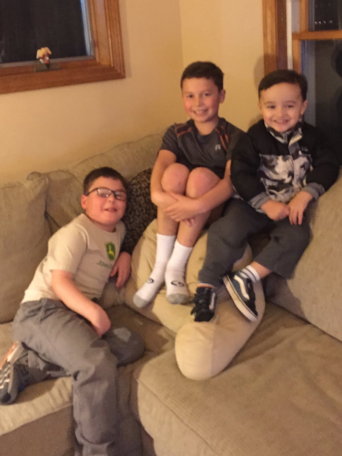 Jacob, Matthew, and Aiden