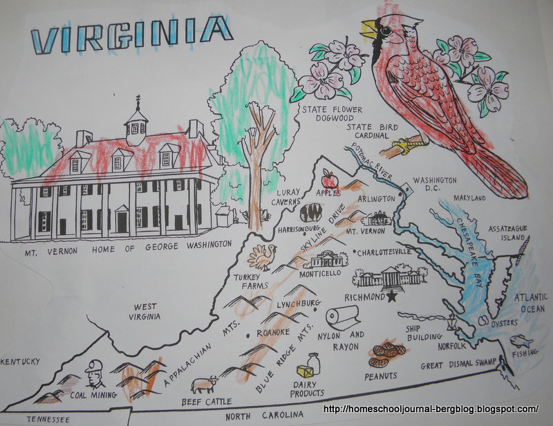 Physical Regions Of Virginia Submited Images