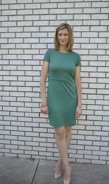 Working Girl Wednesdays - Green Dress