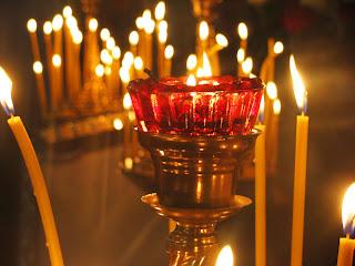 κεριά καντίλη εκκλησία