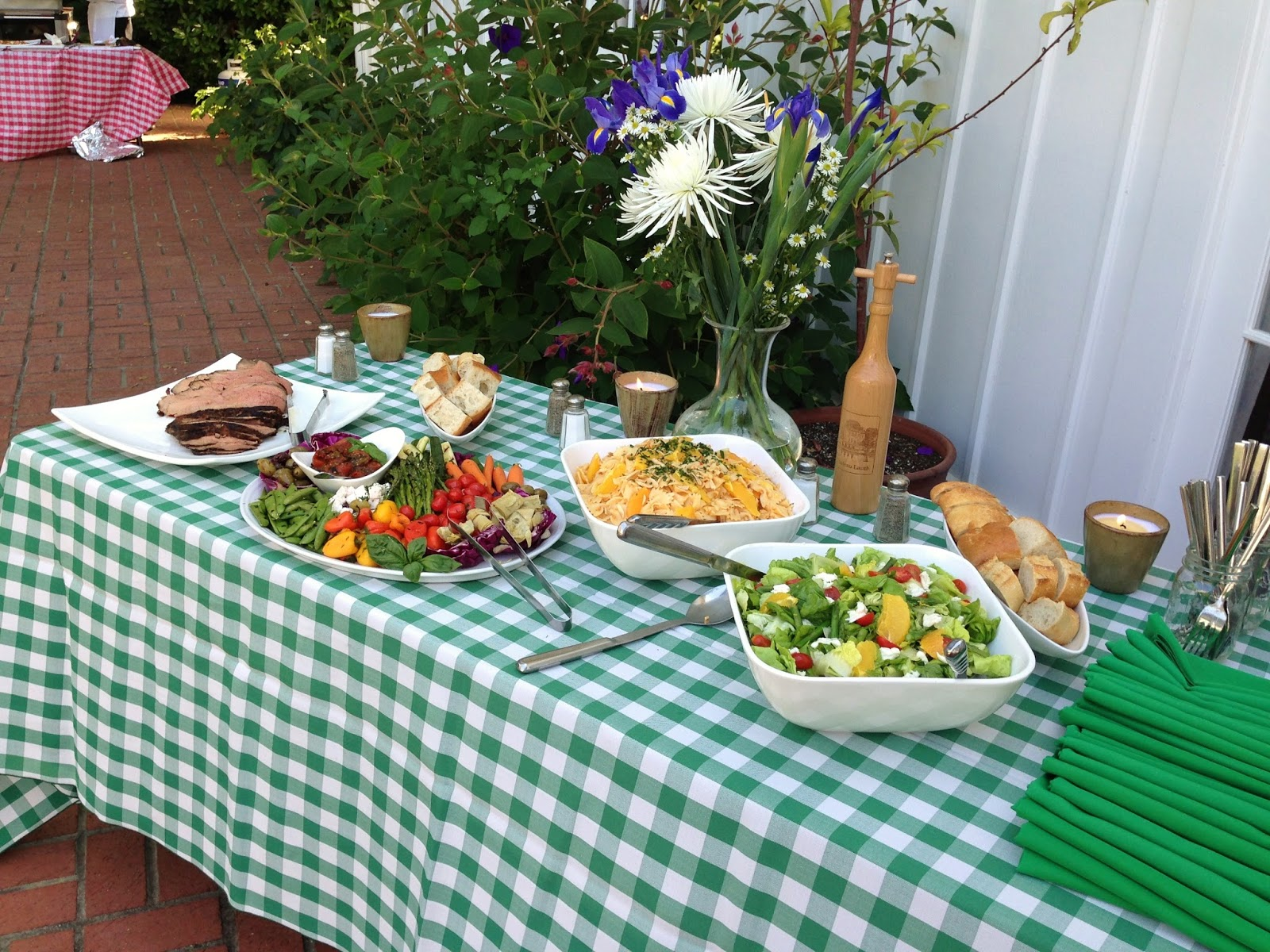 chef tracy lauth easy recipes for an elegant summer bbq