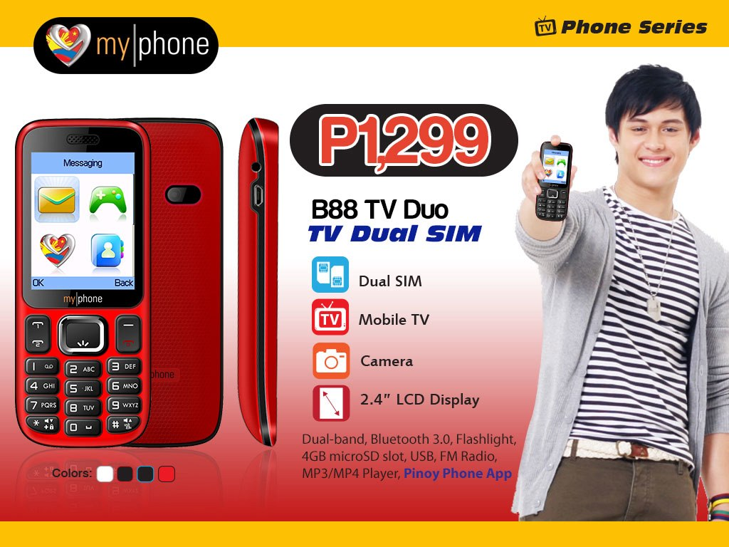 MyPhone B88 TV Duo