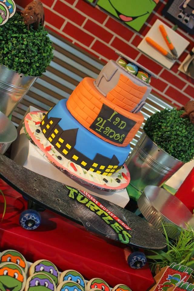 Tartarugas Ninjas - Loja das Festas