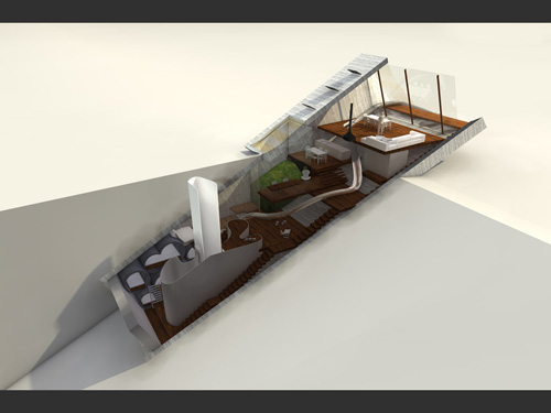 Hidden House Concept Idea