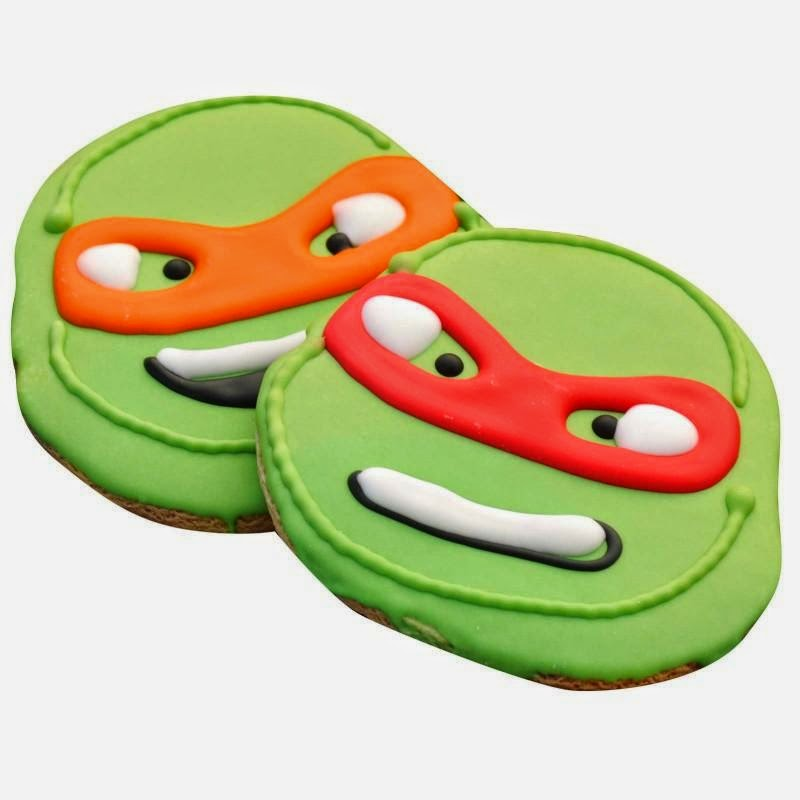 TMNT Party cookies from Birthday Express