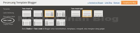 Mengatur Tata Letak Serta Tampilan Blog Di Perancang Template Blogger