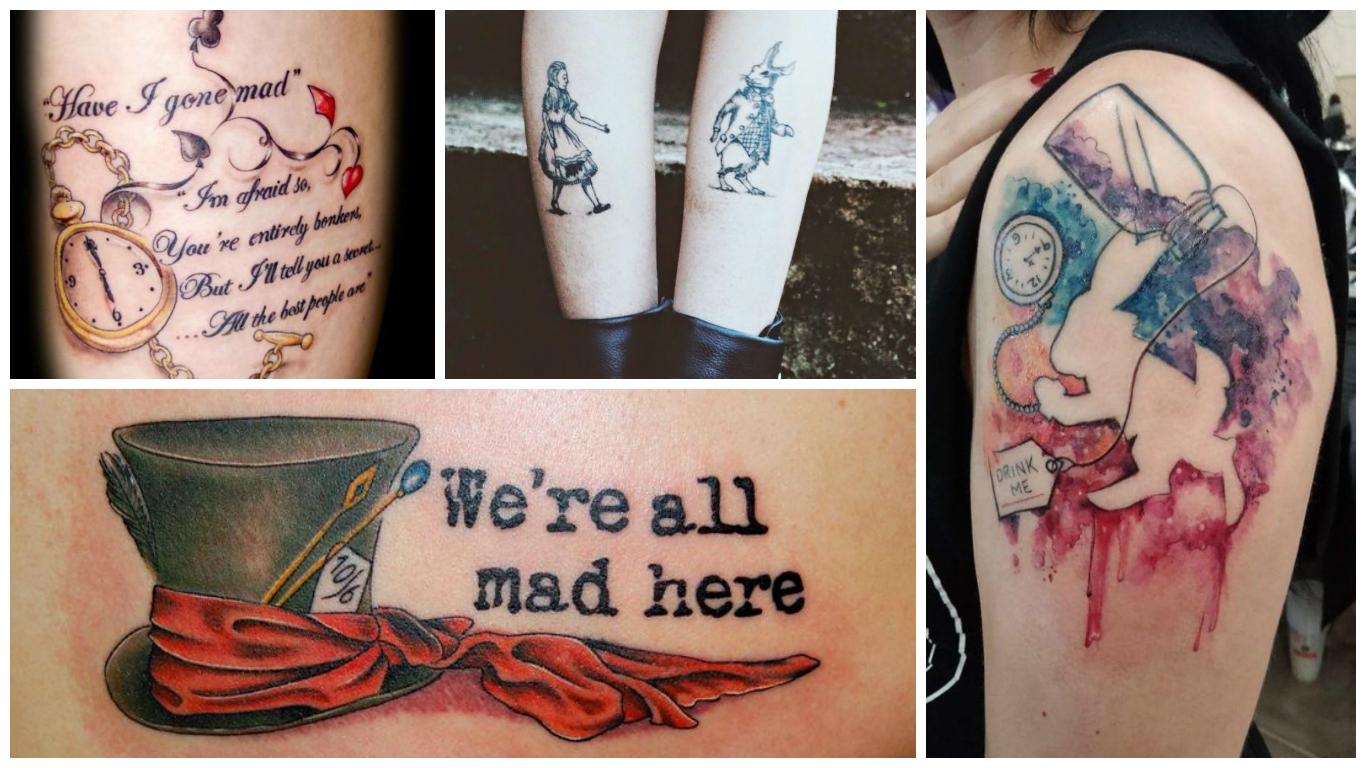 Tatuagens Inspiradas No País Das Maravilhas Memorialices
