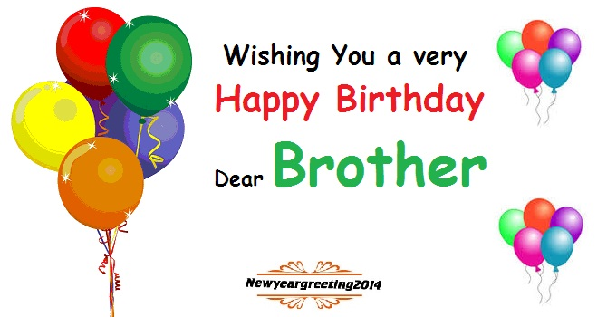 Happy Birthday Wishes Poem For Brother