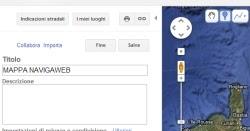 Creare mappe personali e cartine con google maps pom heyweb for Come creare i miei progetti personali