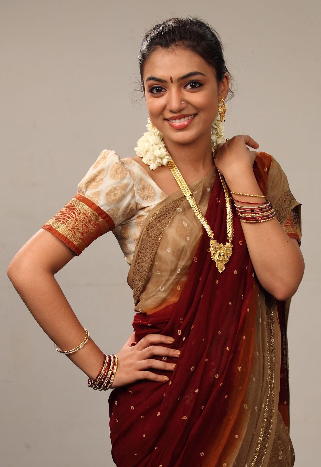 mallu actress nazriya nazim cute in saree 171 mallufuncom