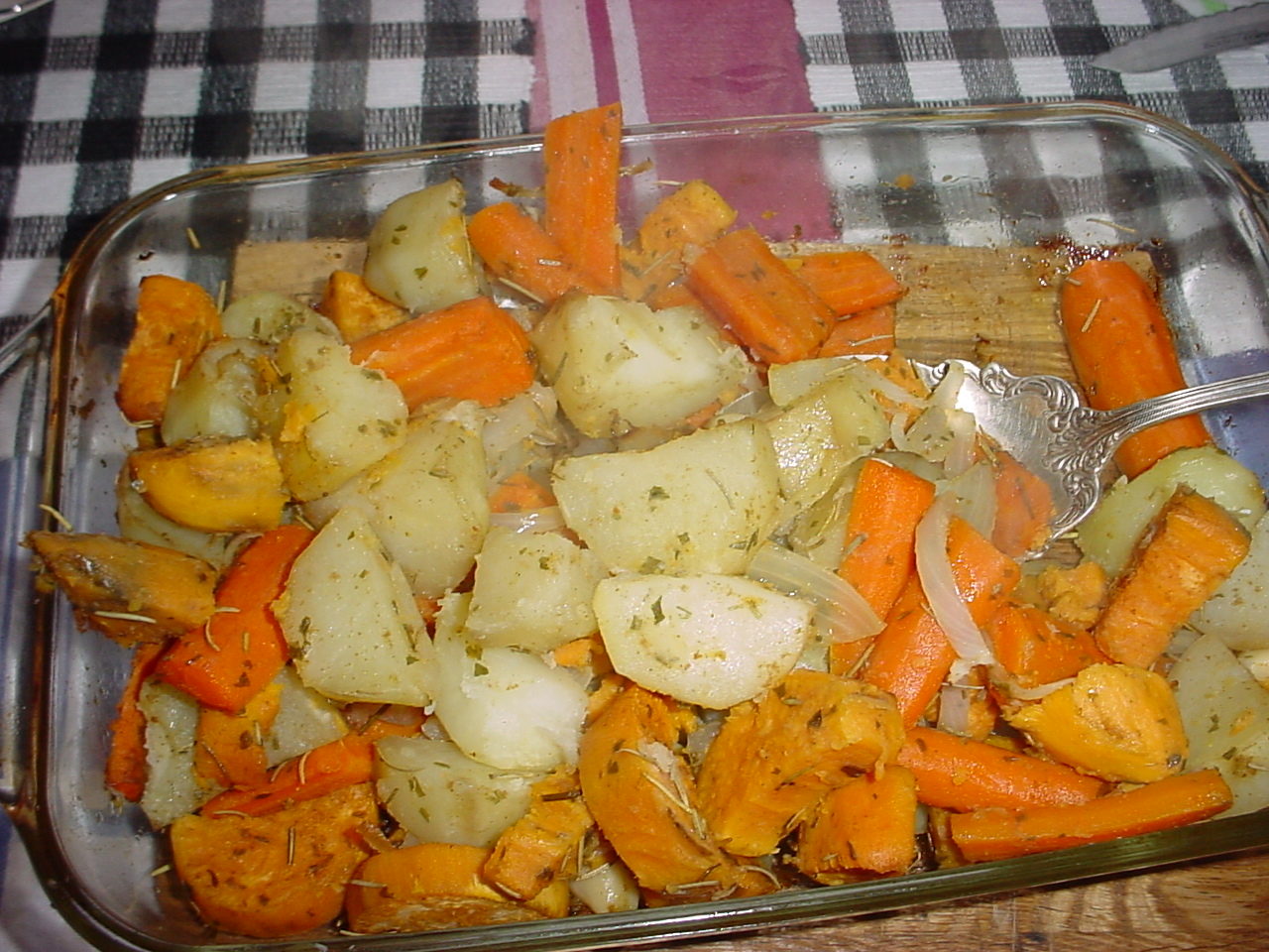 how to cook sweet potatoes in oven with aluminum foil