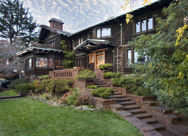 Greene and greene style help to save the thorsen house for The berkeley house