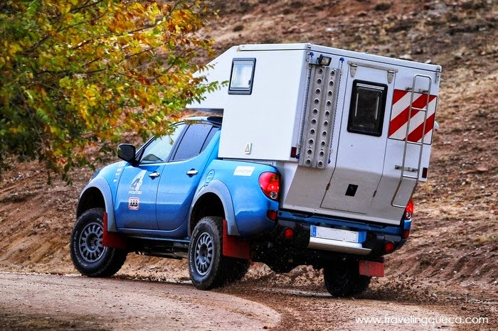 Mitsubishi L200 pickup celula Uro Camper