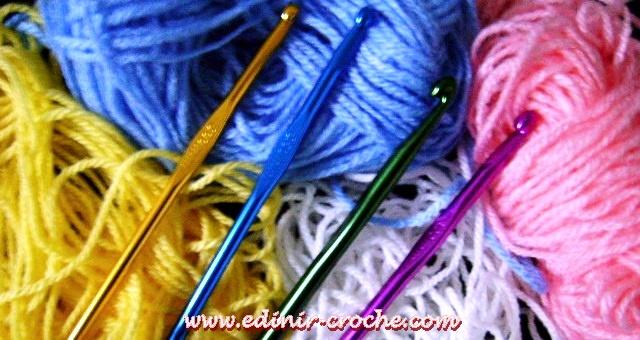 curso de croche dvd 16 volumes da coleção aprendi e ensinei video aulas frete gratis com Edinir-Croche