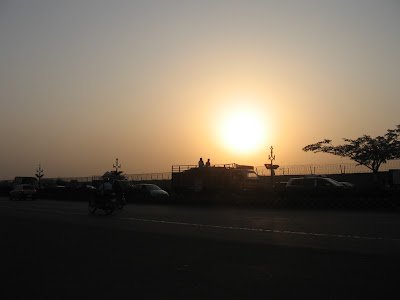 Sunset at Chennai