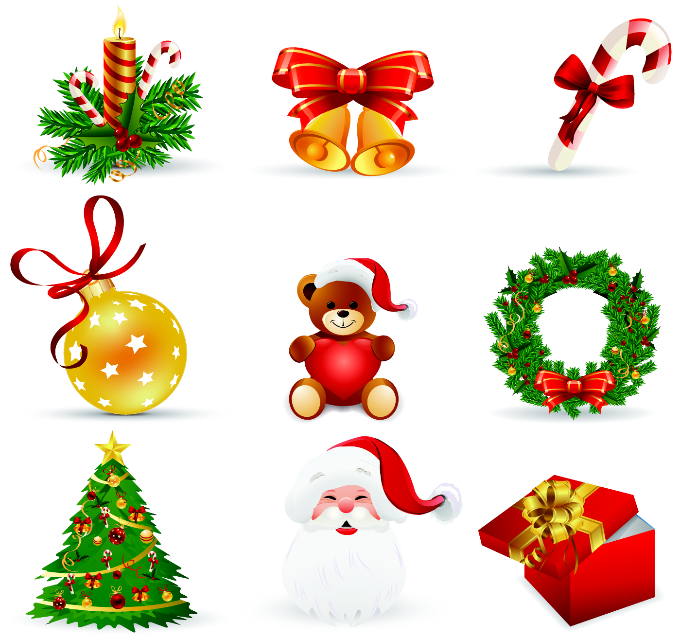 Banco de im genes m s de 70 adornos navide os para hacer for Ver figuras de navidad