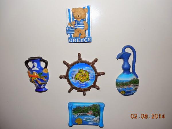 Ce suveniruri va luati din Grecia?
