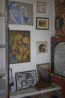 private art collection, photo by julia spiess