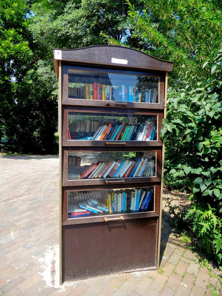 Öffentliches Bücherregal - Celle