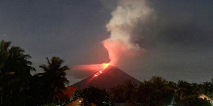 Letusa Gunung Soputan Minahasa