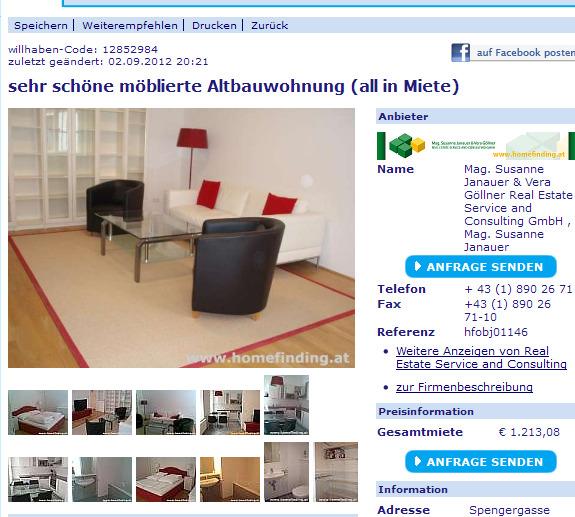 Wohnungsbetrug Blogspot Com Sehr Sch 246 Ne M 246 Blierte