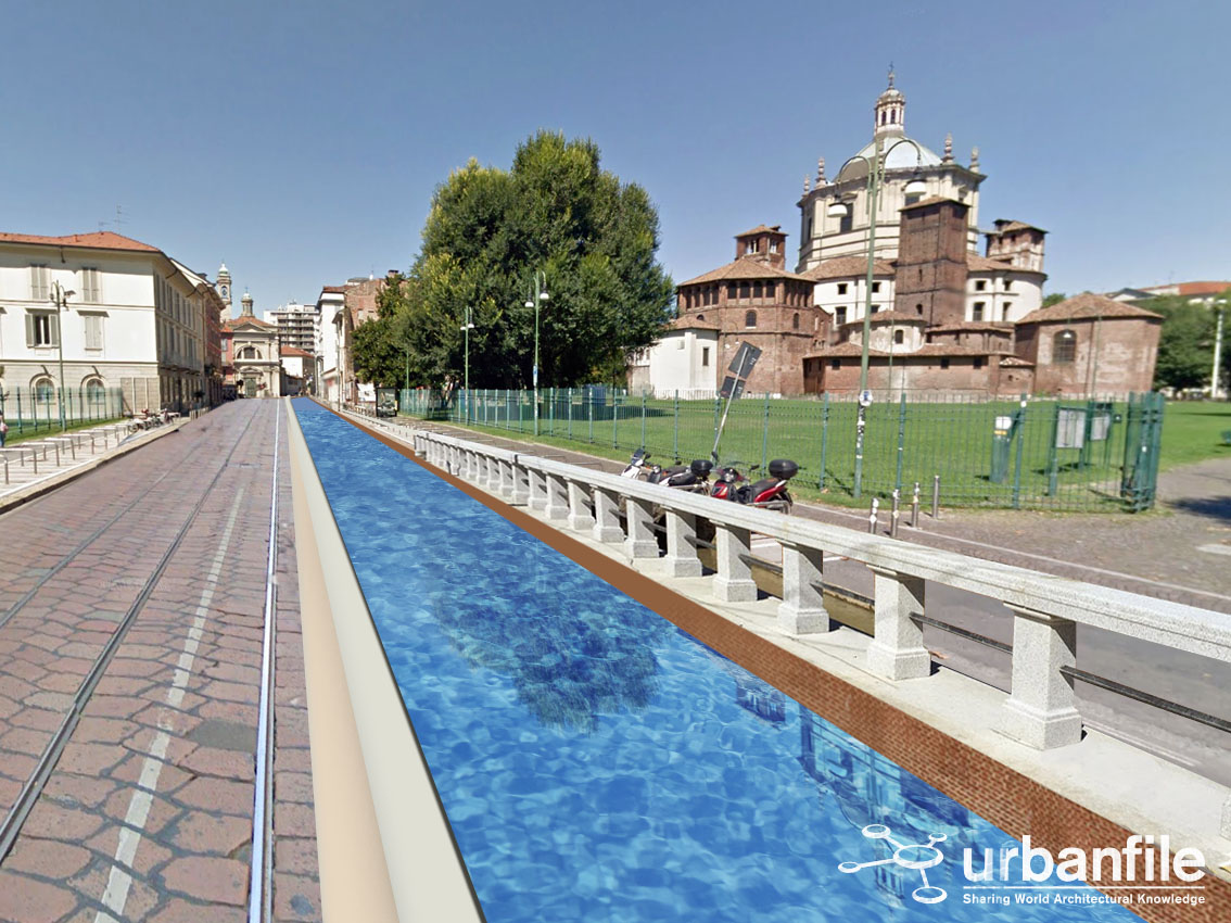 Urbanfile milano progetti la cerchia dei navigli - Navigli porta genova ...