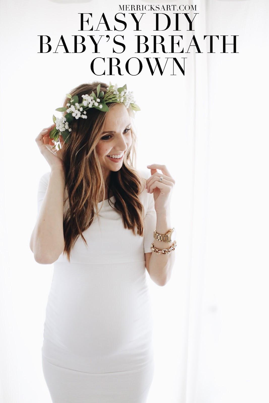 Diy Friday Easy Floral Crown Tutorial Merricks Art Merricks Art