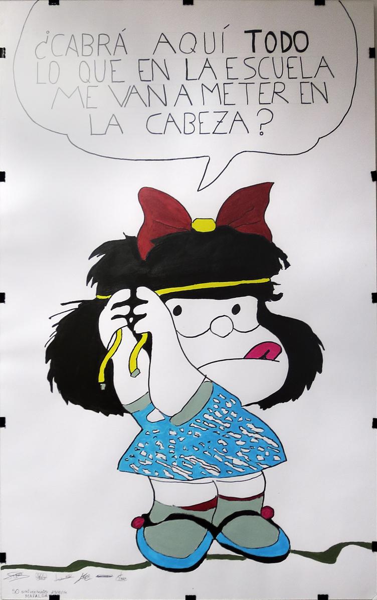 Mafalda, 50 años