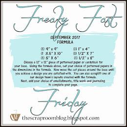 September Freaky Fast Friday Challenge