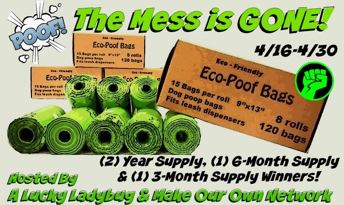 Enter the POOF! The Mess is Gone Giveaway. Ends 4/30